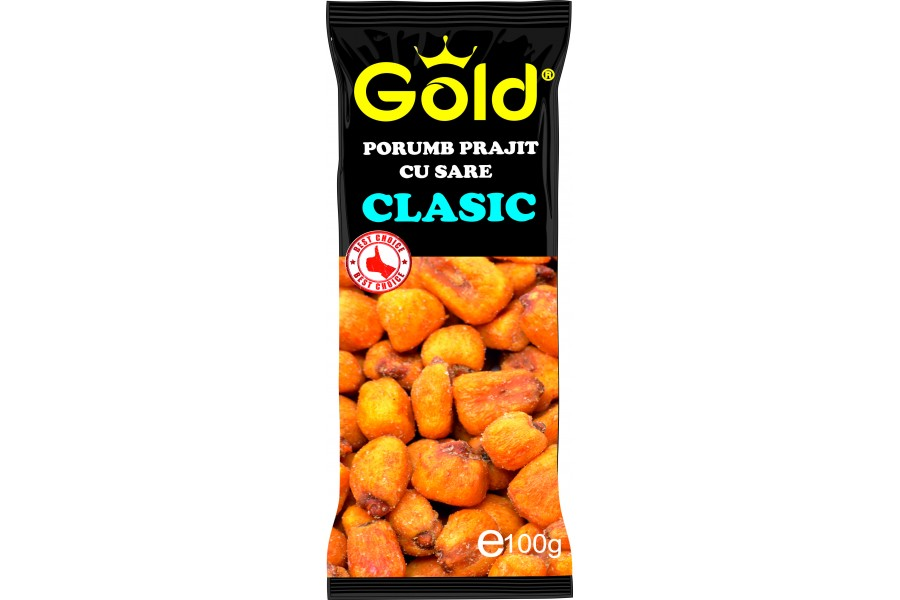 Porumb prajit si sarat GOLD 100 g